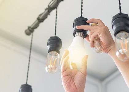 Remplacer une ampoule